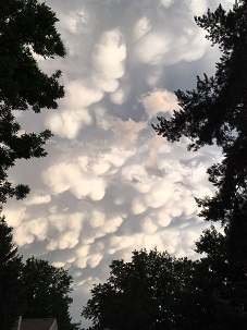 Mammatus Clouds