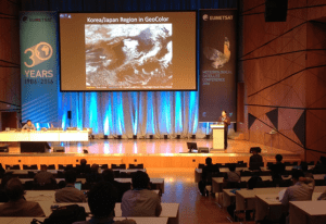 Steve Miller at the 2016 EUMETSAT Meteorological Satellite Conference