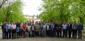 participants at the Convection Working Group Meeting